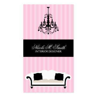 Stylish Decor Interior Designer Cards Business Cards
