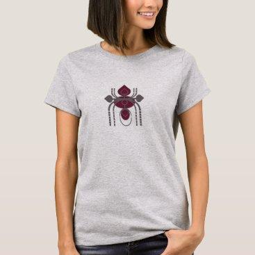 Beach Themed Stylish Design Motif T-Shirt