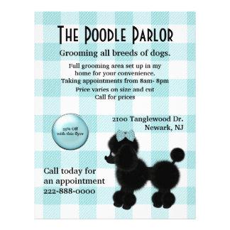 Stylish Dog Care Flyer