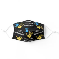 Stylish Down Syndrome Awareness Reusable Adult Cloth Face Mask