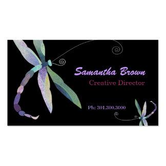 Stylish Dragonfly: Designer Business Cards