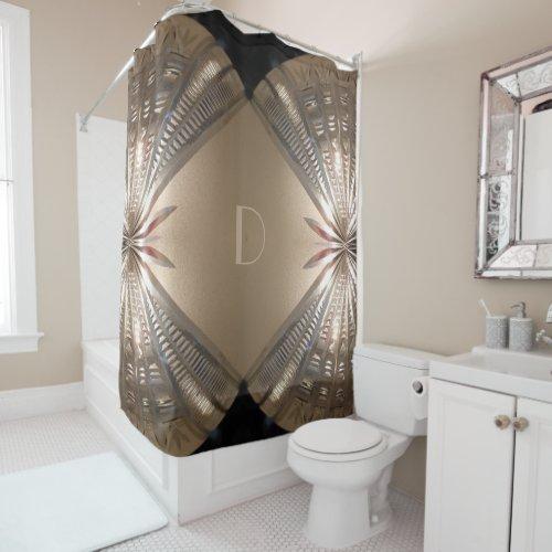 Stylish Dramatic Shower Curtain
