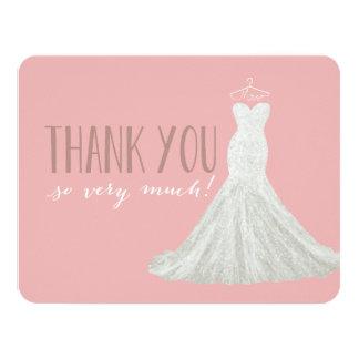 Stylish Dress Pink | Thank You Card