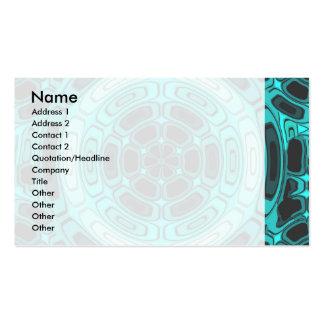 Stylish duotone business card