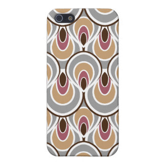 Stylish Elegant Abstract Retro Art Deco Pattern Cover For iPhone 5
