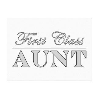Stylish Elegant Aunts : First Class Aunt Canvas Prints