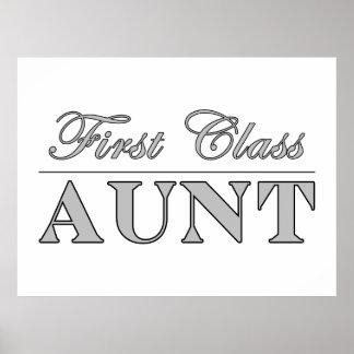 Stylish Elegant Aunts : First Class Aunt Print