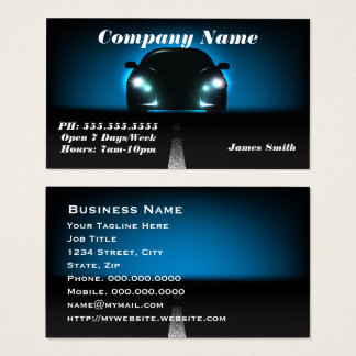 Automobile Business Cards & Templates | Zazzle