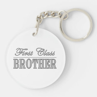 Stylish Elegant Brothers Gifts First Class Brother Key Chain