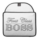 Stylish Elegant Gifts for Bosses First Class Boss Sleeve For MacBook Pro