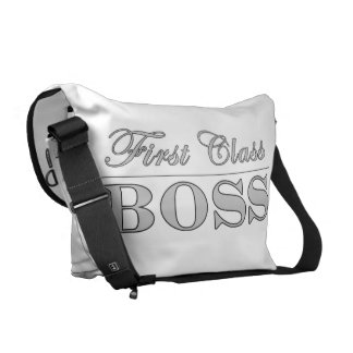 Stylish Elegant Gifts for Bosses First Class Boss Messenger Bags