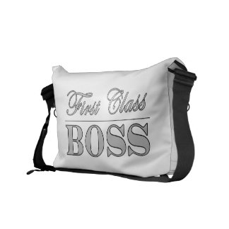 Stylish Elegant Gifts for Bosses First Class Boss Courier Bag