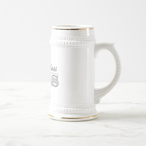 Stylish Elegant Gifts for Bosses First Class Boss Coffee Mugs
