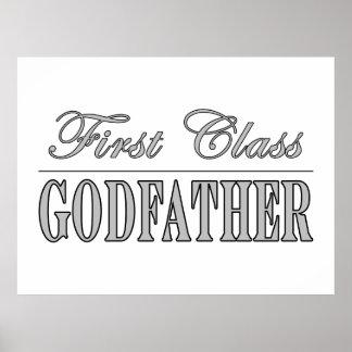 Stylish Elegant Godfathers : First Class Godfather Poster