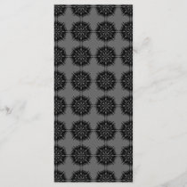 Stylish elegant pattern. Black and Gray.