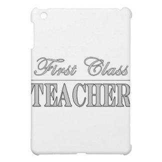 Stylish Elegant Teachers Gifts First Class Teacher iPad Mini Covers