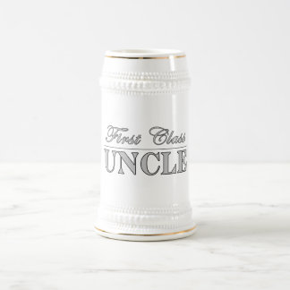 Stylish Elegant Uncles : First Class Uncle Beer Stein