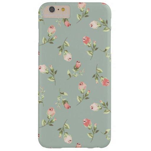 Stylish Elegant Vintage Floral iPhone 6 Plus Case