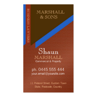 Stylish Executive Corporate Earthy Damask Double-Sided Standard Business Cards (Pack Of 100)