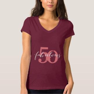 Stylish Fabulous 50 Birthday T-Shirt