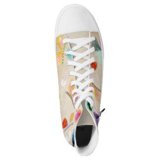 Stylish Fashion Butterflies Printed Shoes