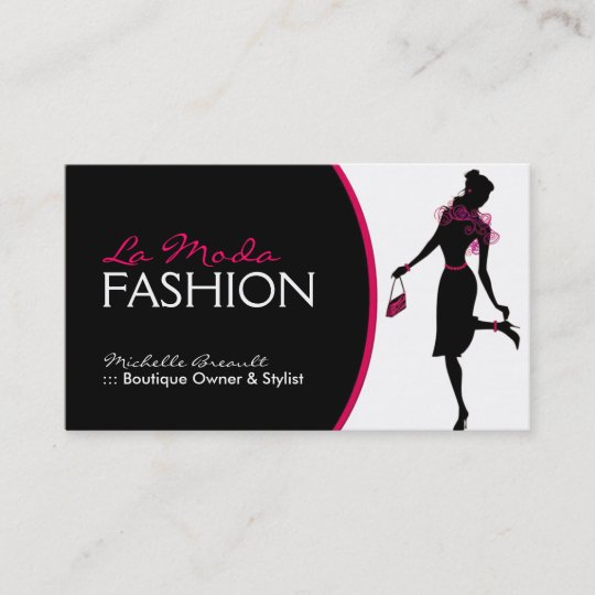 Stylish fashion designer business card zazzle stylish fashion designer business card colourmoves