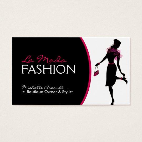 Visiting Card Design For Fashion Designer