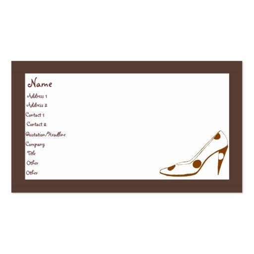 Stylish feminine fashion business cards zazzle for Feminine business cards