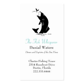 Stylish Fishing Business Card