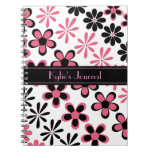 Stylish Floral Journal Notebook