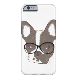 Stylish french bulldog barely there iPhone 6 case