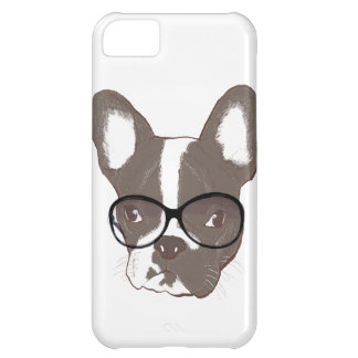 Stylish french bulldog cover for iPhone 5C