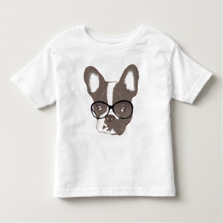 Stylish french bulldog toddler t-shirt
