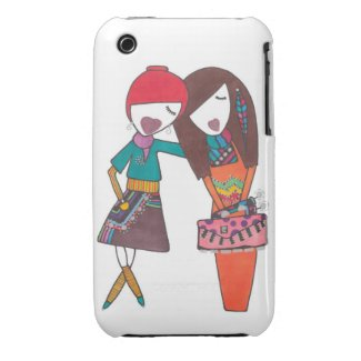 Stylish friends iphone case