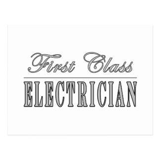 Stylish Fun Electricians : First Class Electrician Postcards