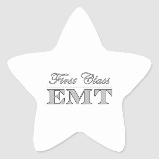 Stylish Fun EMTs : First Class EMT Star Stickers