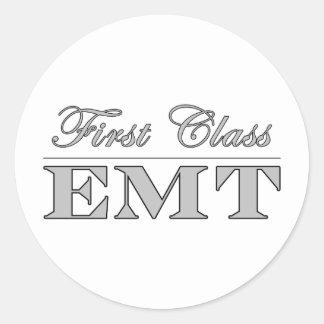 Stylish Fun EMTs : First Class EMT Sticker