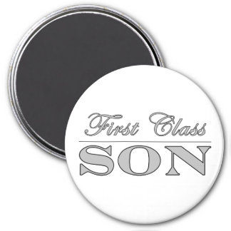 Stylish Fun Sons : First Class Son Fridge Magnet