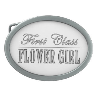 Stylish Funny Gifts : First Class Flower Girl Belt Buckle