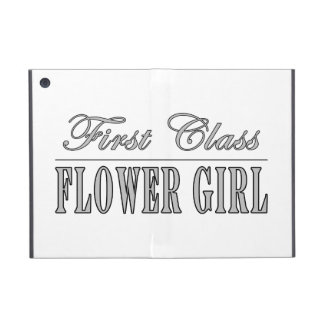 Stylish Funny Gifts : First Class Flower Girl Case For iPad Mini