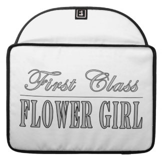 Stylish Funny Gifts : First Class Flower Girl Sleeve For MacBook Pro