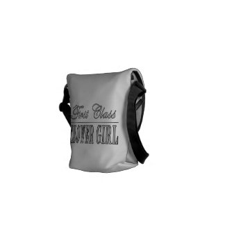 Stylish Funny Gifts : First Class Flower Girl Courier Bag