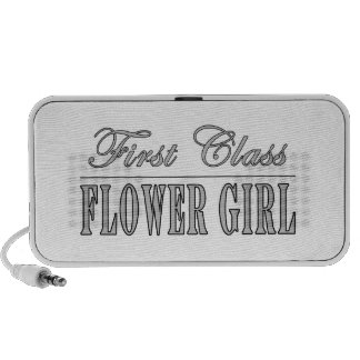 Stylish Funny Gifts : First Class Flower Girl Travelling Speakers