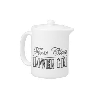 Stylish Funny Gifts : First Class Flower Girl