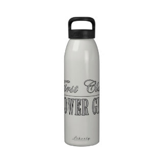 Stylish Funny Gifts : First Class Flower Girl Drinking Bottle