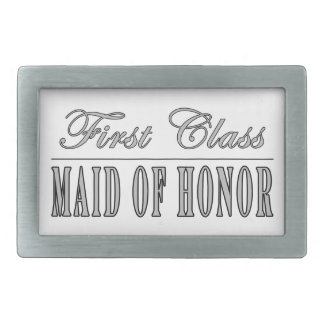 Stylish Funny Gifts : First Class Maid of Honor Belt Buckle