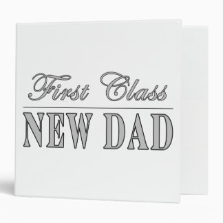 Stylish Funny Gifts : First Class New Dad Binders