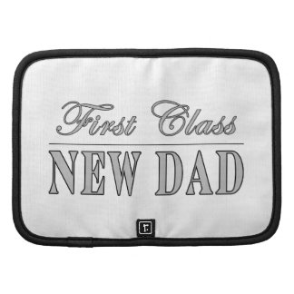 Stylish Funny Gifts : First Class New Dad Folio Planner