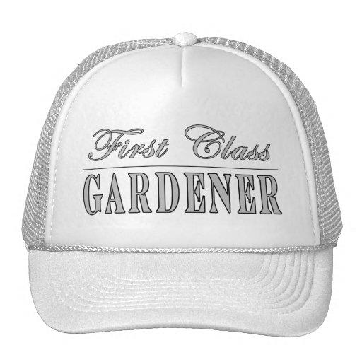 Stylish Gardeners : First Class Gardener Trucker Hat