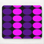 Stylish Gifts for Girls : Pink & Purple Polka Dots Mouse Pads